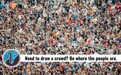 How to think about large church event promotion